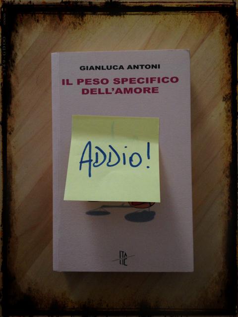 Molto il peso specifico dell'amore Archivi - Pagina 4 di 6 - Gianluca Antoni GR95
